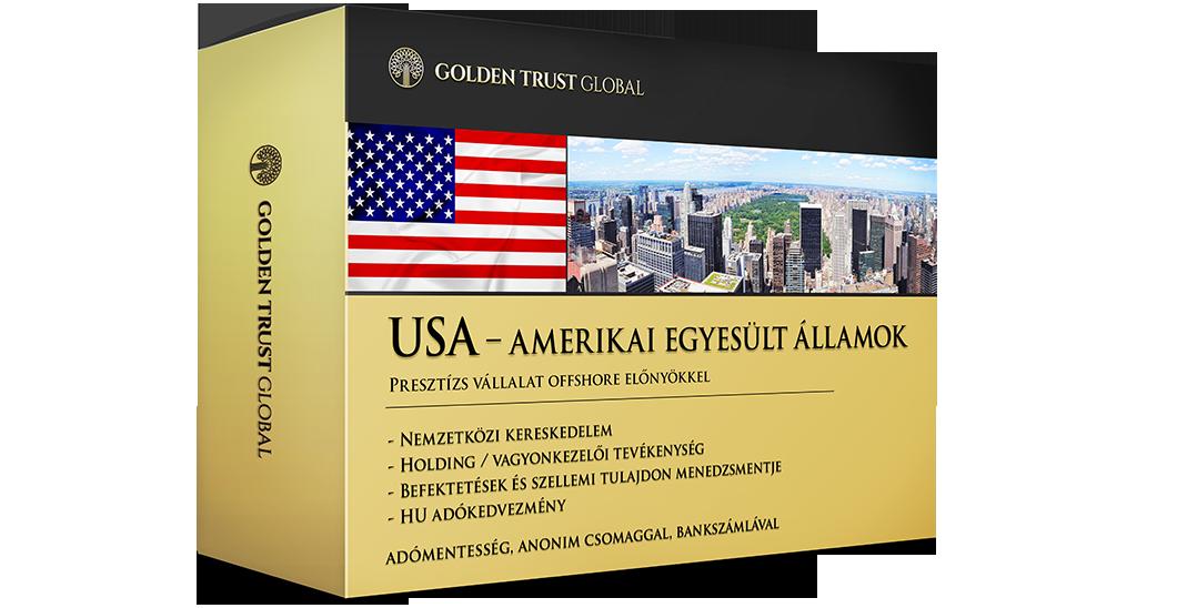 USA, presztízs, anonim cég offshore előnyökkel