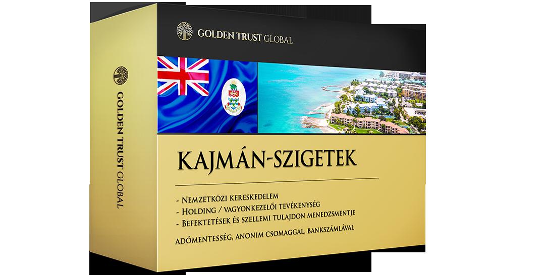 Kajmán-szigetek, adómentes, anonim offshore cég