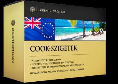 Cook-szigetek, adómentes, anonim offshore cég
