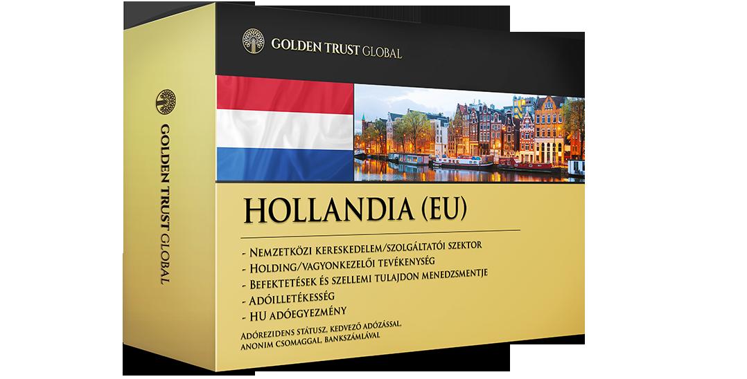 Hollandia, adórezidens EU presztízscég offshore előnyökkel