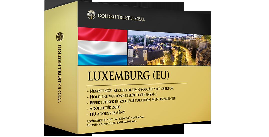 Luxemburg, adórezidens EU presztízscég offshore előnyökkel