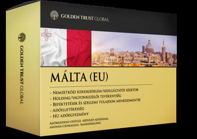 Málta, adórezidens EU presztízs cég offshore előnyökkel