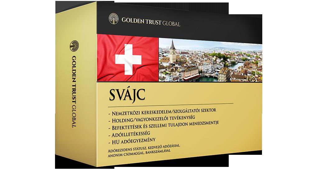 Svájc, adórezidens presztízscég adóelőnyökkel
