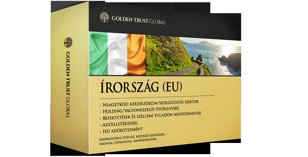 Írország, adórezidens EU presztízscég adóelőnyökkel