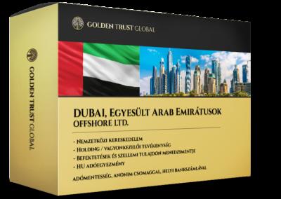 Dubaj, adómentes, anonim offshore cég