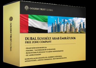 Dubaj, Free Zone Company, adórezindens és adómentes presztízscég