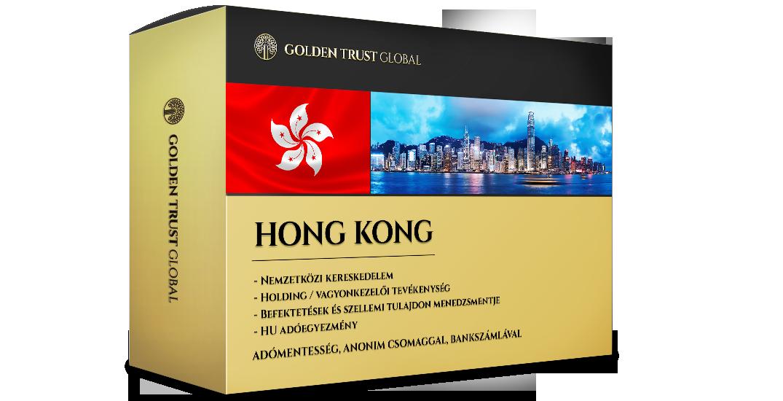 Hong Kong, presztízs cég offshore előnyökkel