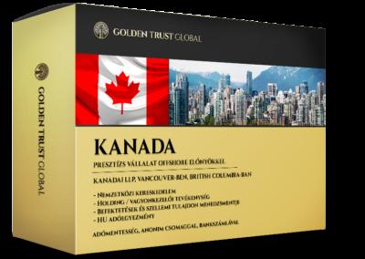 Kanada, presztízs cég offshore előnyökkel