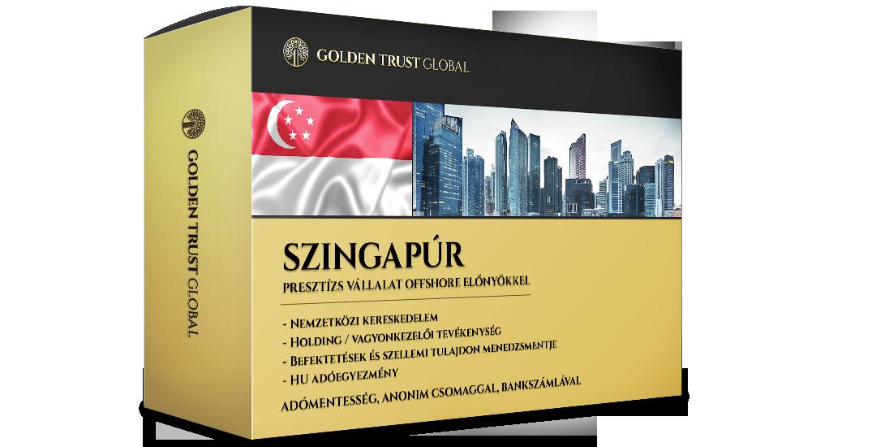 Szingapúr, adórezidens presztízs cég offshore előnyökkel